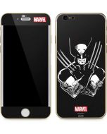Wolverine Black and White iPhone 6/6s Skin