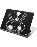 Wolverine Black and White Yoga 910 2-in-1 14in Touch-Screen Skin