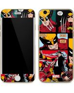 Wolverine Comic Collage iPhone 6/6s Skin