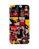Wolverine Comic Collage iPhone XS Max Lite Case