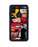 Wolverine Comic Collage iPhone XS Waterproof Case