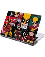 Wolverine Comic Collage Yoga 910 2-in-1 14in Touch-Screen Skin