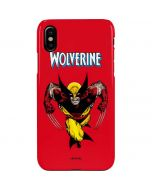 Wolverine Ready For Action iPhone XS Max Lite Case