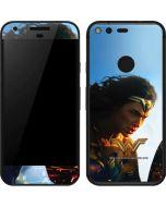 Wonder Woman Action Shot Google Pixel Skin