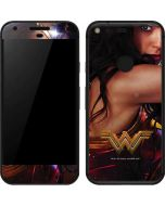 Wonder Woman Battle Ready Google Pixel Skin