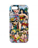 Wonder Woman Comic Blast iPhone 8 Pro Case