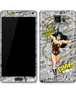Wonder Woman Comic Galaxy Note5 Skin