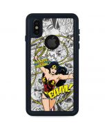 Wonder Woman Comic iPhone X Waterproof Case