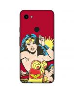 Wonder Woman in Action Google Pixel 3a Skin