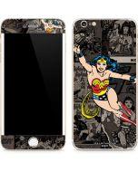 Wonder Woman Mixed Media iPhone 6/6s Plus Skin