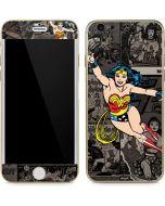 Wonder Woman Mixed Media iPhone 6/6s Skin