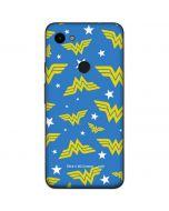 Wonder Woman Pattern Google Pixel 3a Skin