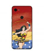 Wonder Woman Ready to Fight Google Pixel 3a Skin