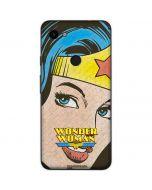 Wonder Woman Vintage Profile Google Pixel 3a Skin