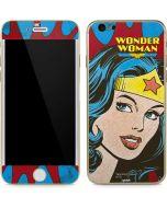 Wonder Woman Vintage Profile iPhone 6/6s Skin