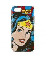 Wonder Woman Vintage Profile iPhone 8 Pro Case