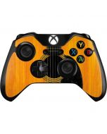 Wood Guitar Xbox One Controller Skin