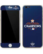 World Series Champions 2017 Houston Astros iPhone 6/6s Skin