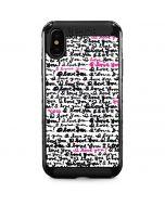 Written Love iPhone XS Max Cargo Case