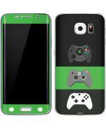 Xbox Controller Evolution Galaxy S6 Edge Skin