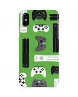 Xbox Pattern iPhone XS Max Lite Case