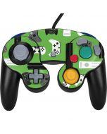Xbox Pattern Nintendo GameCube Controller Skin