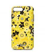 Yellow Flowerbed iPhone 7 Plus Pro Case