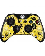 Yellow Flowerbed Xbox One Controller Skin