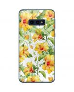 Yellow Hibiscus Galaxy S10e Skin