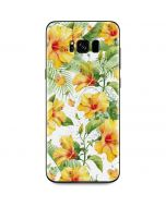 Yellow Hibiscus Galaxy S8 Plus Skin