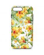 Yellow Hibiscus iPhone 7 Plus Pro Case