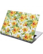 Yellow Hibiscus Yoga 910 2-in-1 14in Touch-Screen Skin