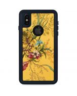 Yellow Marble End by William Kilburn iPhone X Waterproof Case