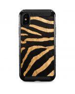 Zebra iPhone XS Max Cargo Case