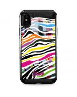 Zebra Pattern iPhone XS Max Cargo Case