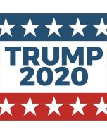 Trump 2020 Red White and Blue iPhone XS Max Skin