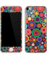 Psychedelic Circles Apple iPod Skin