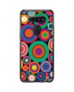 Psychedelic Circles LG K51/Q51 Clear Case
