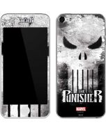 Punisher Long Skull Apple iPod Skin
