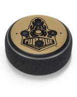 Purdue Gold Signature Logo Amazon Echo Dot Skin