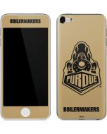 Purdue Gold Signature Logo Apple iPod Skin