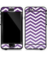 Purple Chevron LifeProof Nuud iPhone Skin