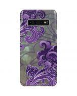 Purple Flourish Galaxy S10 Plus Lite Case
