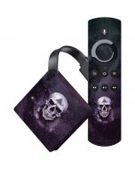 Purple Skull Amazon Fire TV Skin