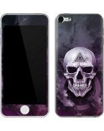 Purple Skull Apple iPod Skin