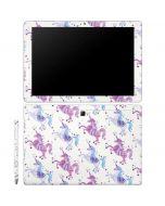 Purple Unicorns Galaxy Book 12in Skin