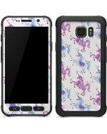 Purple Unicorns Galaxy S7 Active Skin