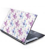 Purple Unicorns Generic Laptop Skin