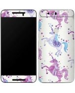 Purple Unicorns Google Nexus 6P Skin