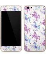 Purple Unicorns iPhone 6/6s Skin